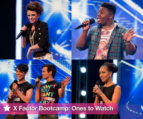 Pictures of The X Factor Bootcamp With Gamu, Cher, Rebecca, Diva Fever, Mary, Paige, Katie, Liam, Yuli and Chloe