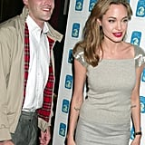 Angelina Jolie and Jonny Lee Miller