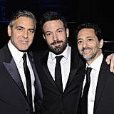George Clooney, Ben Affleck, and Grant Heslov