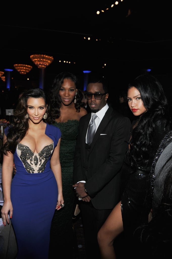 Britney, Diddy, Kim and More Honour Whitney Houston at Clive Davis' Pre-Grammy Party