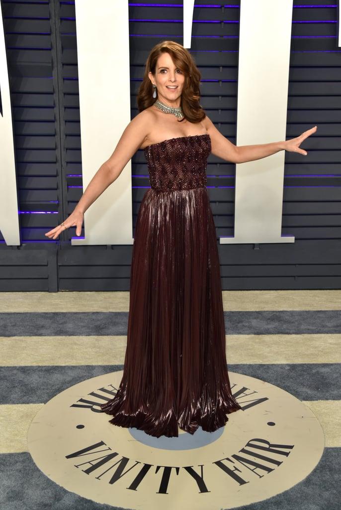 Tina Fey's Converse Sneakers at Vanity Fair Oscar Party 2019