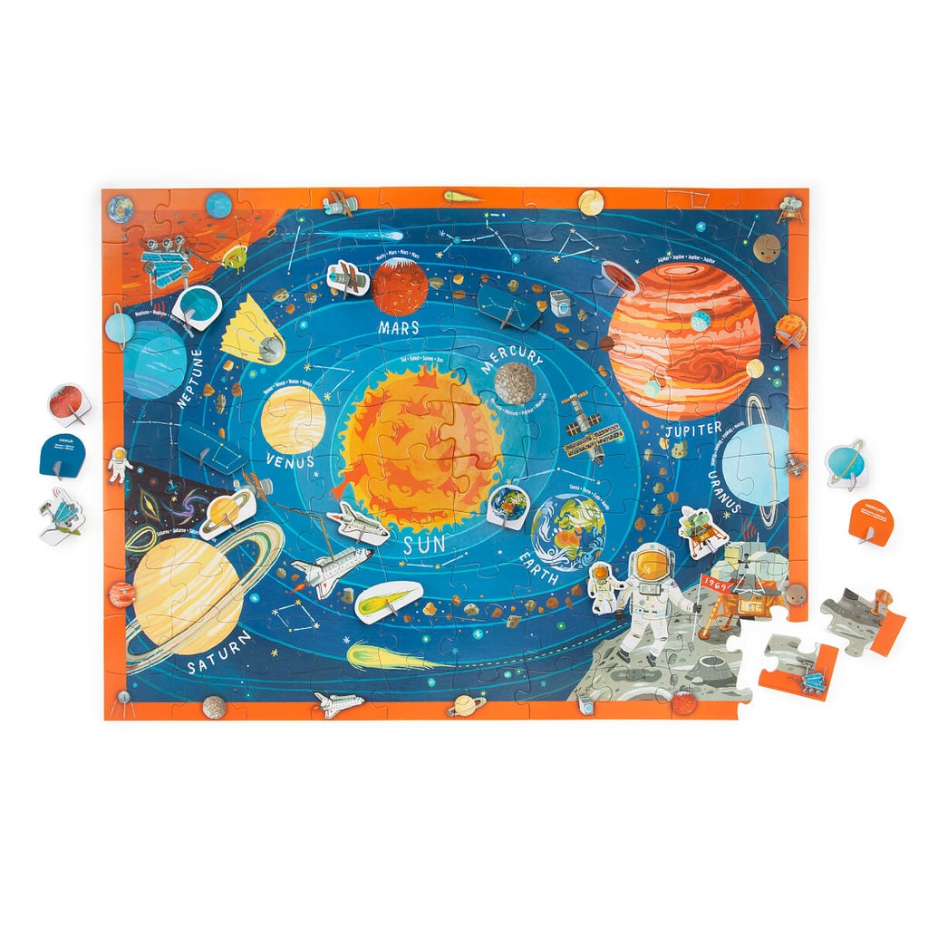 Outer Space Play & Learn Puzzle