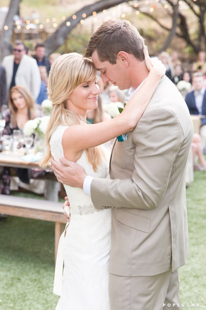 Heather morris wedding dress