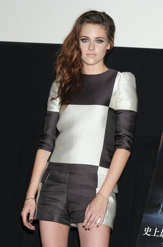 Kristen Stewart was in Japan for Breaking Dawn — Part 2.