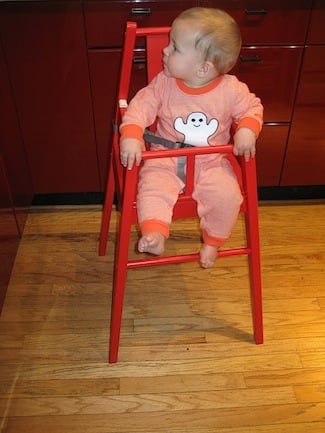 Review and Photos of Ikea Blames High Chair