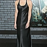 Emma opted for a Calvin Klein charmeuse slip dress for the NY premiere of Harry Potter and the Deathly Hallows.