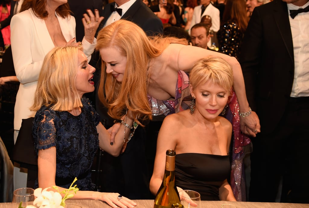 The two linked up during the SAG Awards in January 2016.
