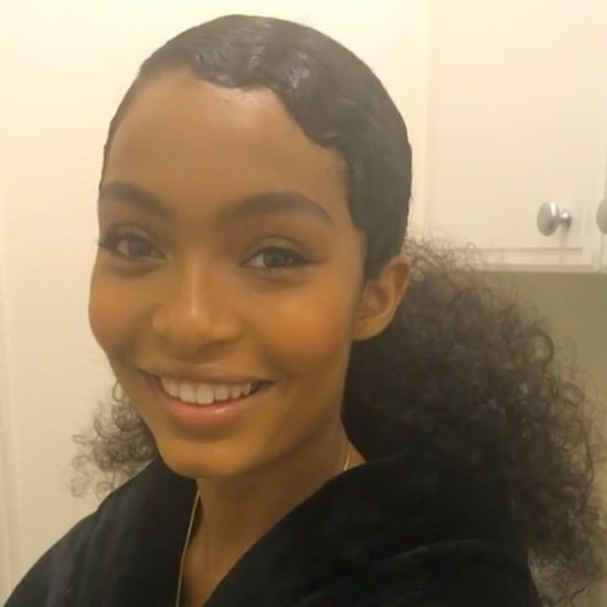 Yara Shahidi Hair and Makeup at 2017 MTV VMAs