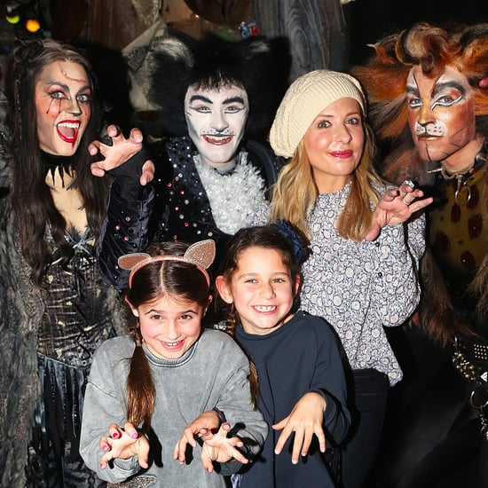 Sarah Michelle Gellar and Daughter at Cats Play in NYC 2017