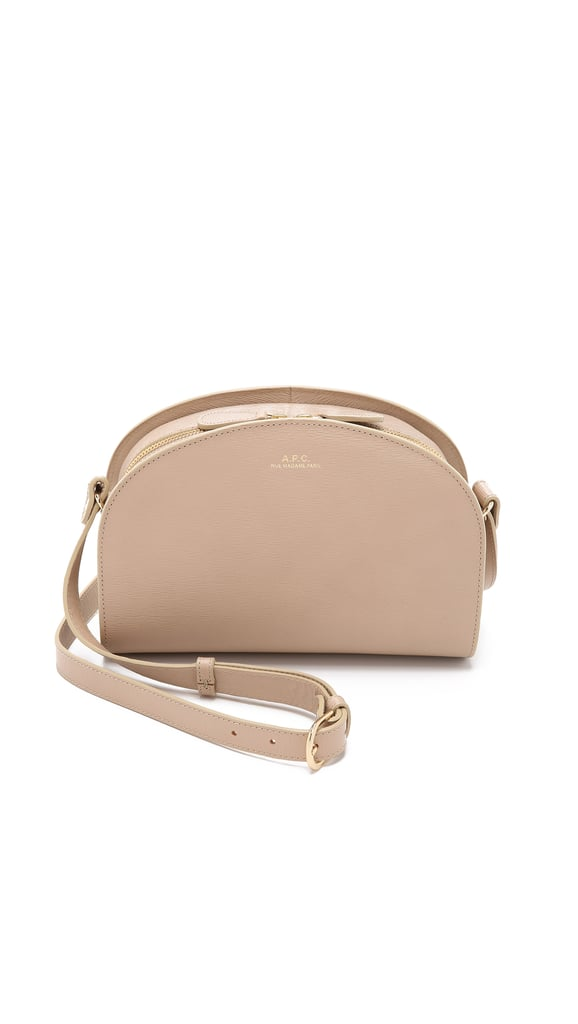 A.P.C Half Moon Cross Body Bag