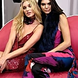 Kendall Also Posed With Elsa Hosk