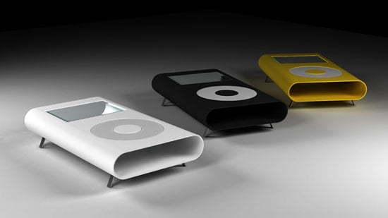 Photos of the iPod-Inspired iFurniture