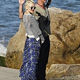 Gavin Rossdale and Gwen Stefani spent Memorial Day on the beach in LA.