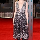 Emma Stone Wearing Chanel at the BAFTA Awards 2017