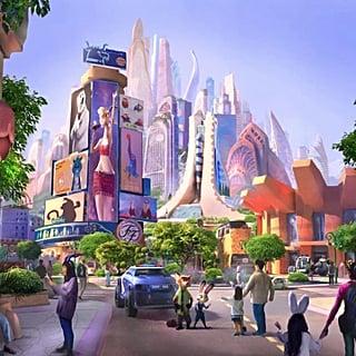 Shanghai Disneyland Adding a Zootopia-Themed Land