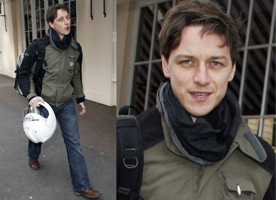 Photos Of James McAvoy At The Apollo Theatre For Three Days Of Rain