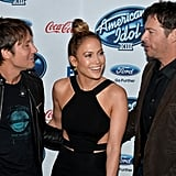 On Thursday, Jennifer Lopez, Keith Urban, and Harry Connick Jr. hosted a party for the American Idol finalists in LA.