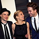With Tom Sturridge and Robert Pattinson