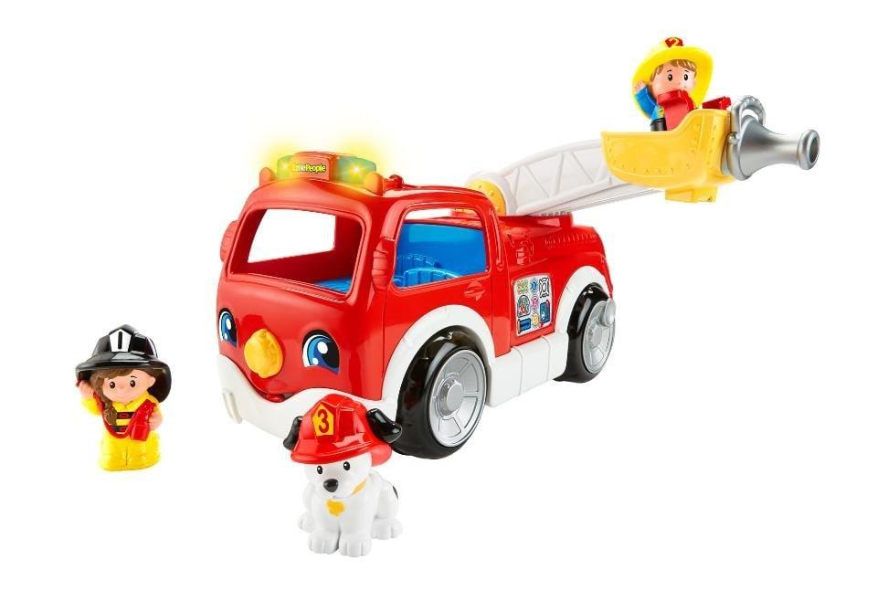Fisher-Price Little People Lift 'n' Lower Fire Truck