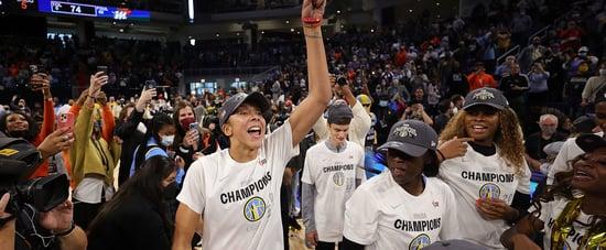Barack Obama Calls Chicago Sky After 2021 WNBA Championship