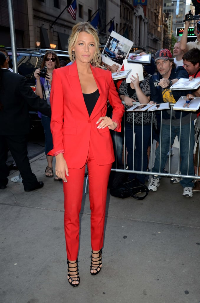 Style Stalk Blake Lively S Latest Looks For Savages