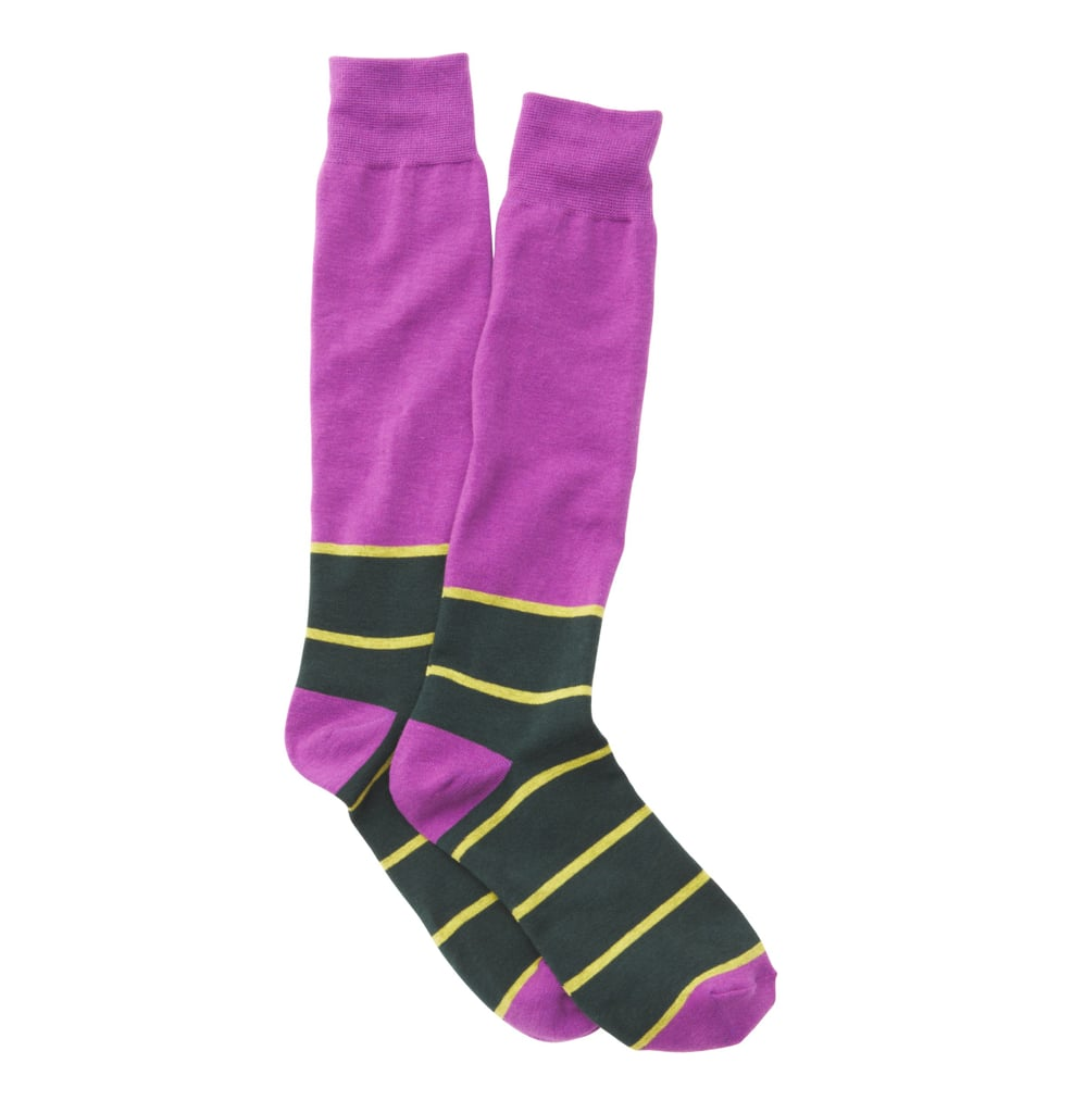 Anyone even remotely sporty will appreciate the rugby-inspired stripes on these boot socks from LOFT ($7).