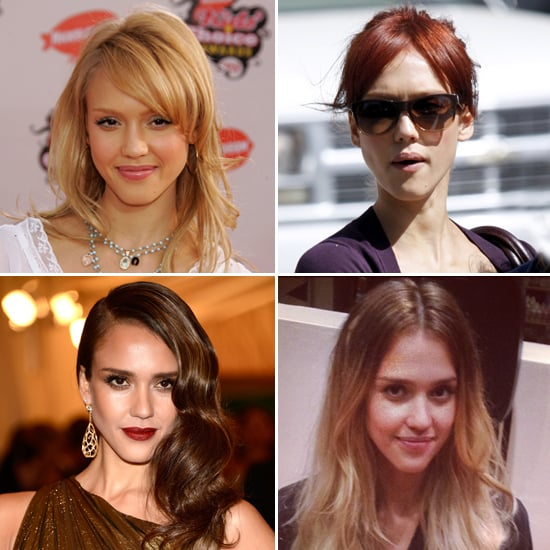 Jessica albas different hair colors popsugar beauty urmus Images