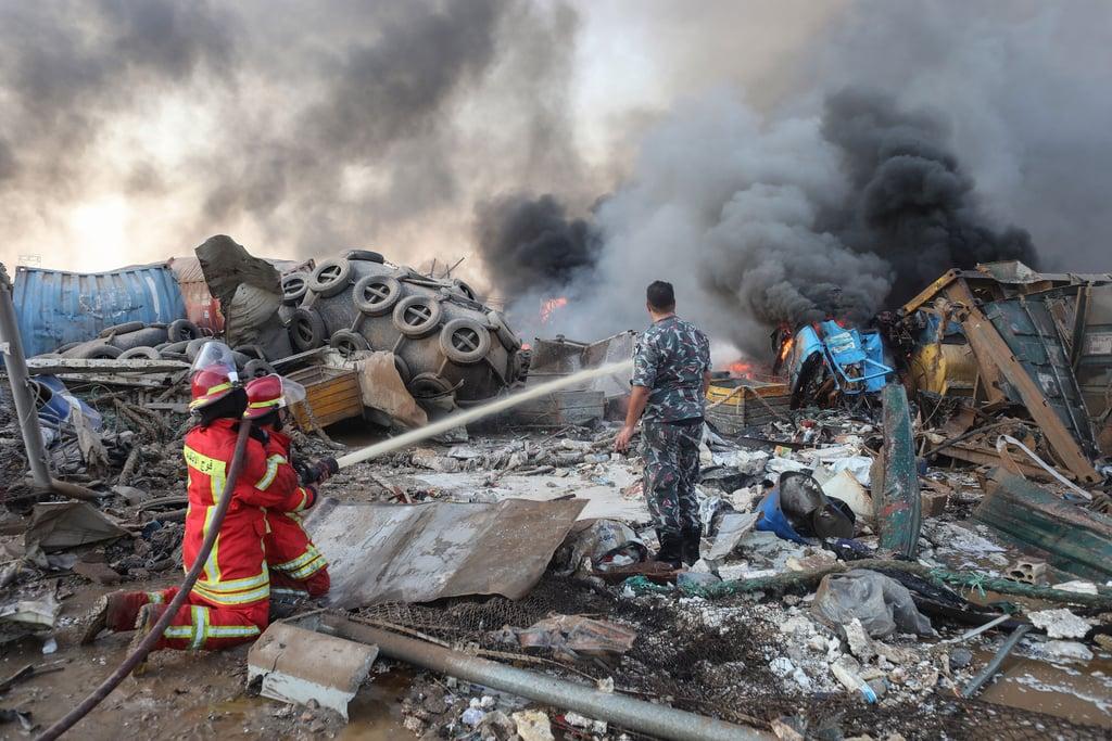 طرق لمساعدة المتضررين من الانفجارات في لبنان