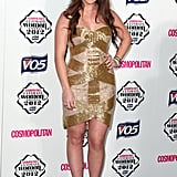 Chloe Green at the Cosmopolitan Ultimate Woman of the Year Awards