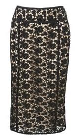 Prada, Lace, Autumn Winter 2008 Trend, skirt