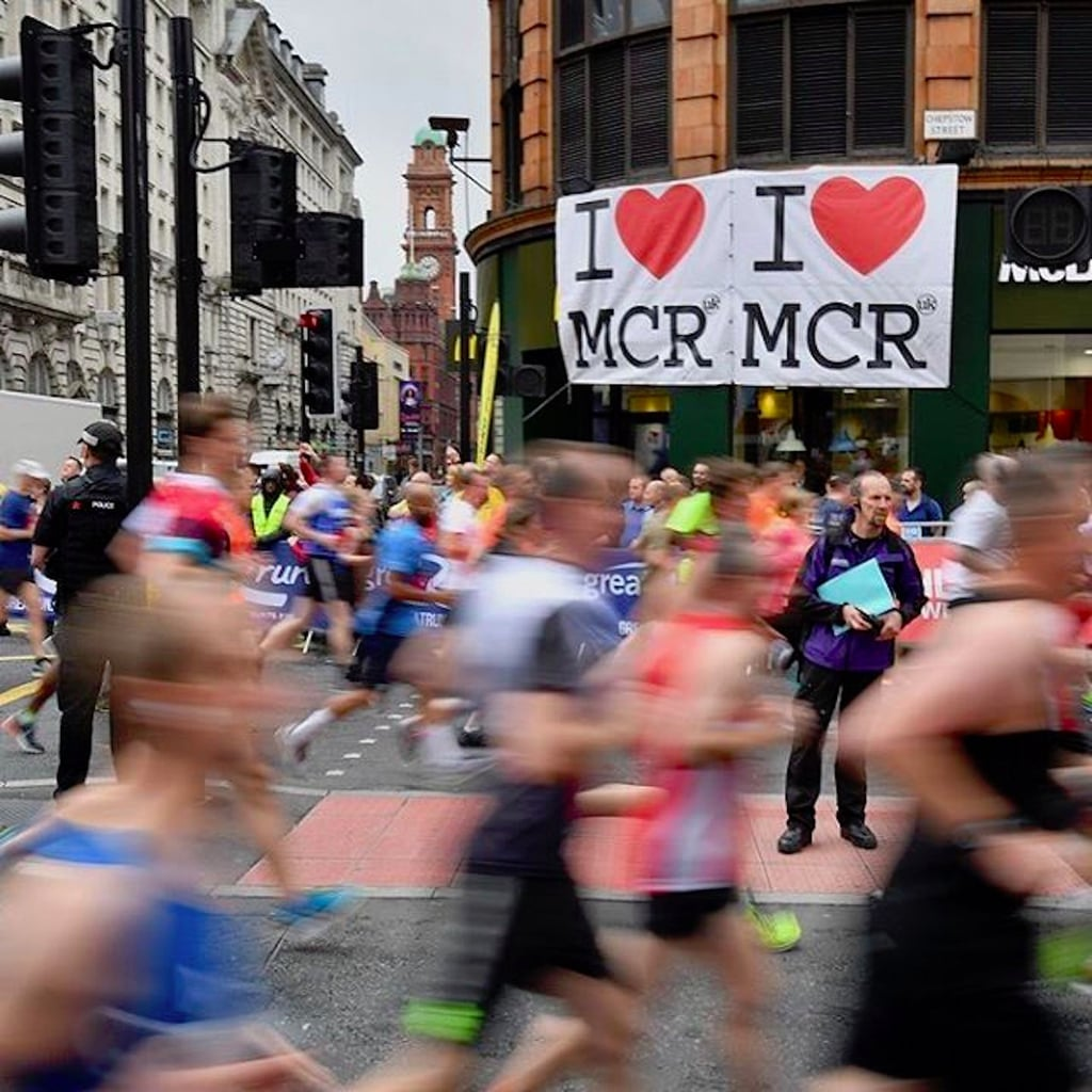Instagram Photos From The Great Manchester Run