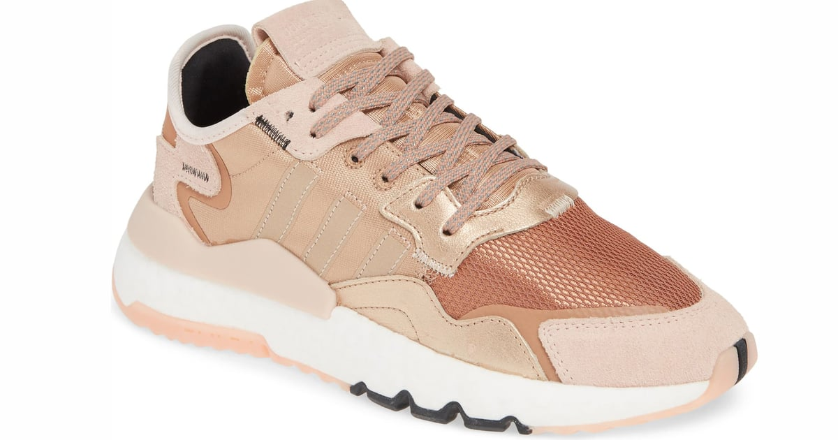 Rose Gold Adidas Sneakers 2019