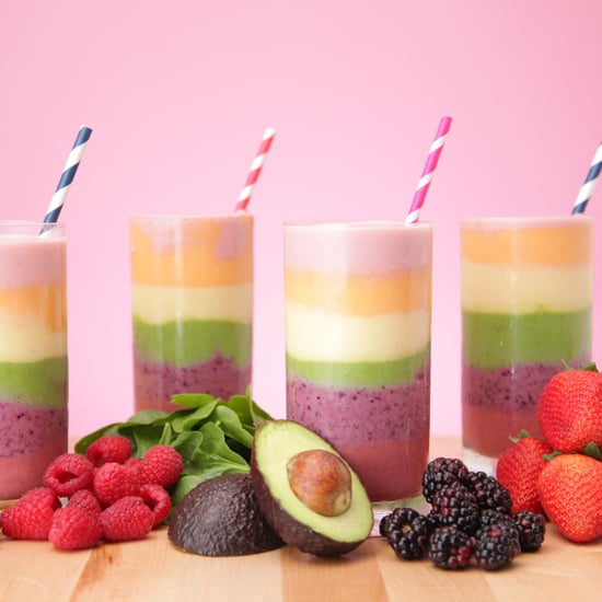 How to Make a Rainbow Smoothie