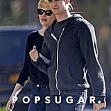 Emma Stone and Andrew Garfield looked casual for a stroll around the West Village in NYC.