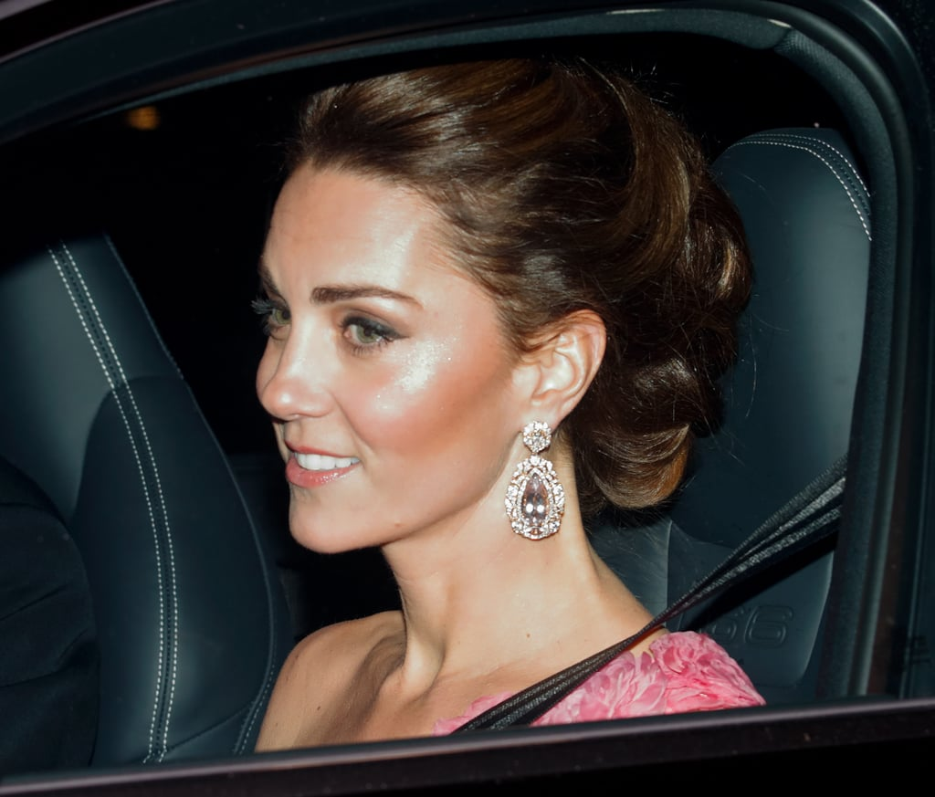 Excuse Us While We Drool Over Meghan and Kate's Blindingly Beautiful Earrings