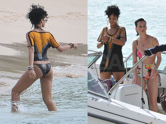 Photos of Rihanna and Katy Perry Together in Bikinis