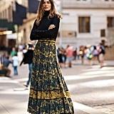 Carolina K Midnight Maxi Skirt
