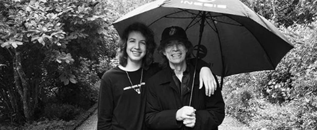 Mick Jagger's Comments on His Son's Instagram Photos