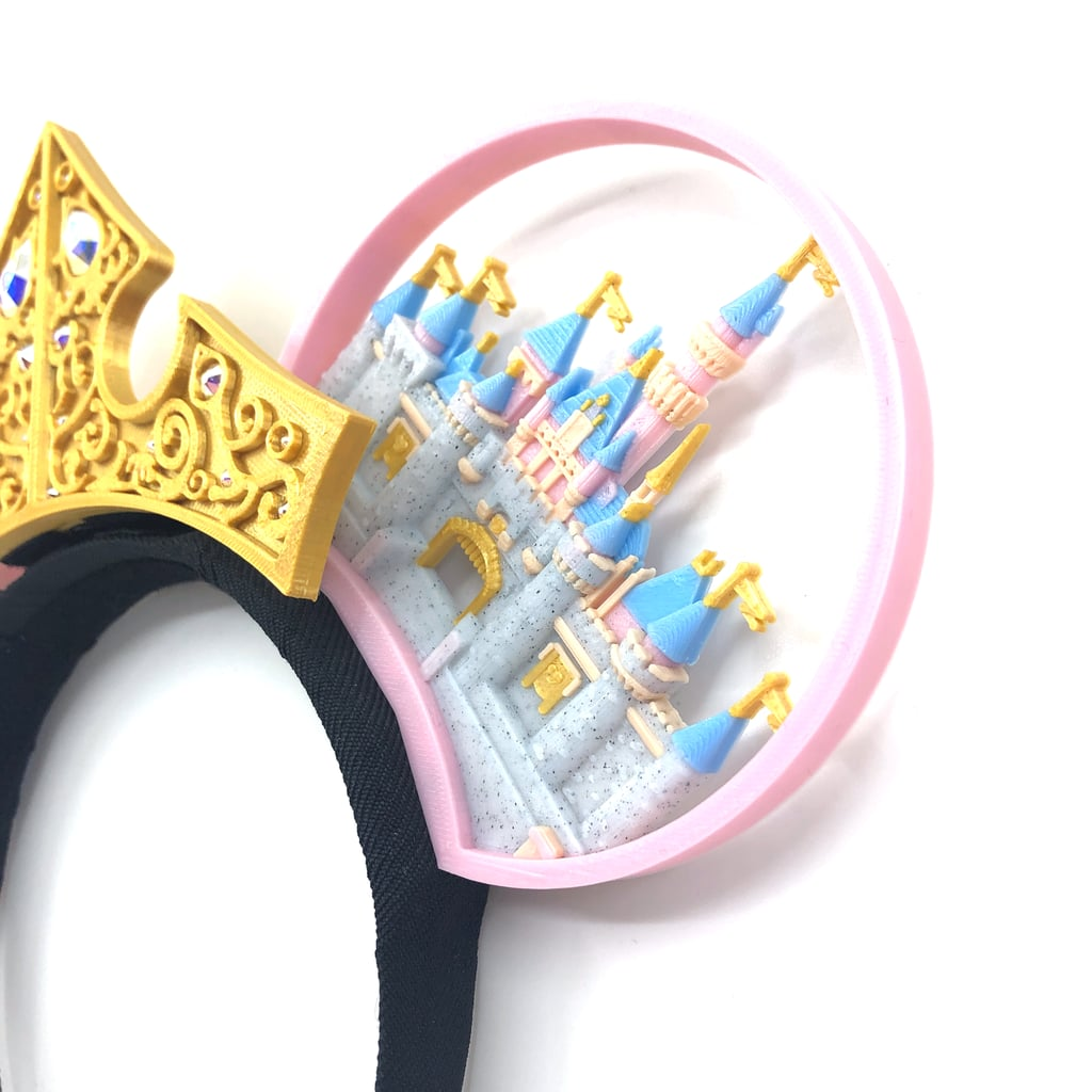 3D Printed Mickey Ears