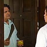 Ajay Mehta stars as Mindy's dad.