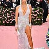 Jennifer Lopez Wearing Versace to the 2019 Met Gala