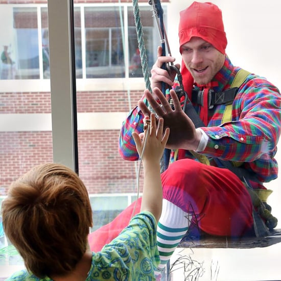 Elves Visit Children's Hospital