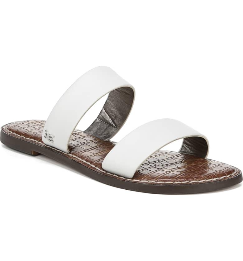 cf3d2b8553442 Sam Edelman Gala Two Strap Slide Sandals