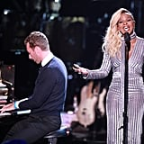 Mary J. Blige singing while Chris Martin played the piano was a performance not to be missed.