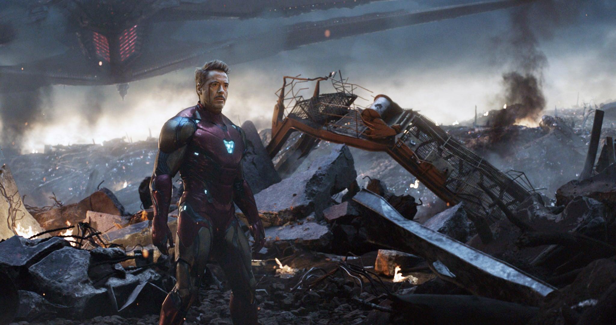 AVENGERS: ENDGAME, (aka AVENGERS 4), Robert Downey Jr. as Tony Stark / Iron Man, 2019.  Walt Disney Studios Motion Pictures /  Marvel Studios / courtesy Everett Collection