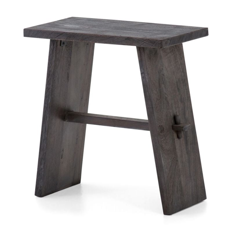 Bonnie: Lax Reclaimed Wood End Table