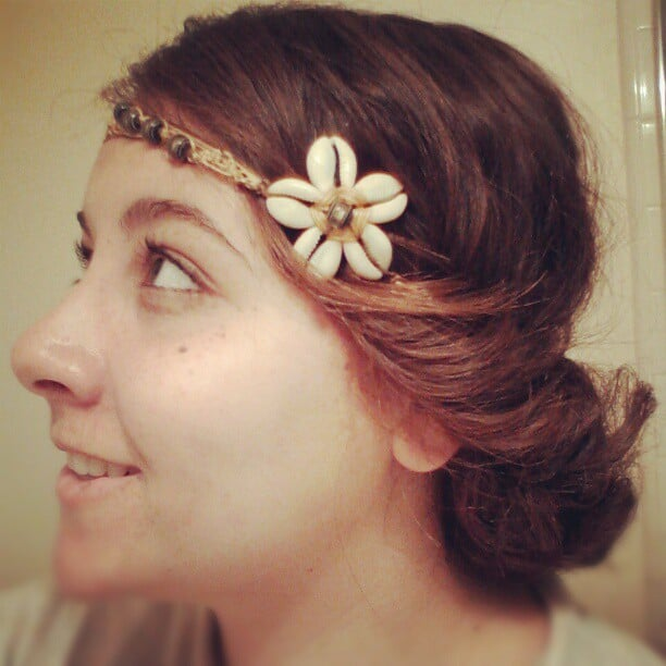 Itsdevonn was seeing shells on this beachy head wrap.