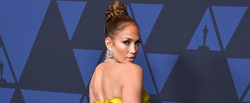 Jennifer Lopez Reem Acra Dress at the Governors Awards Gala