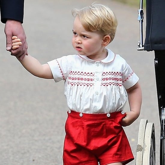 Funny and Cute Prince George Pictures and GIFs