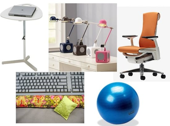 Make Your Home Office Ergonomically Correct With a Few Simple Supplies